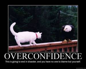 There is confidence and then there is arrogance...